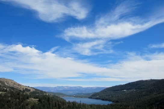 Donner Lake as seen from the Road Cut Crag. Photo by Henrique Miranda