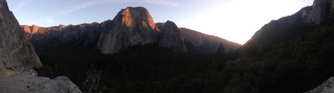 Valley panorama by Bojan Silic