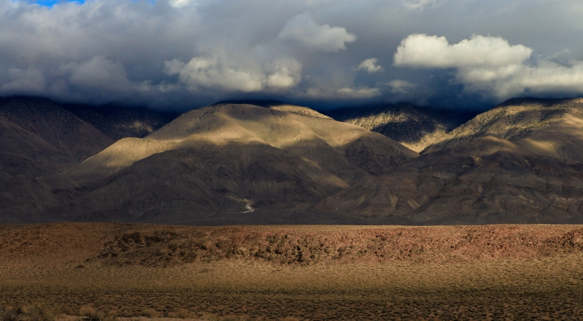 Foothills of the White Mountains