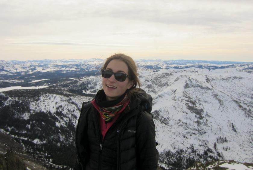 On the summit of Round Top Mountain!