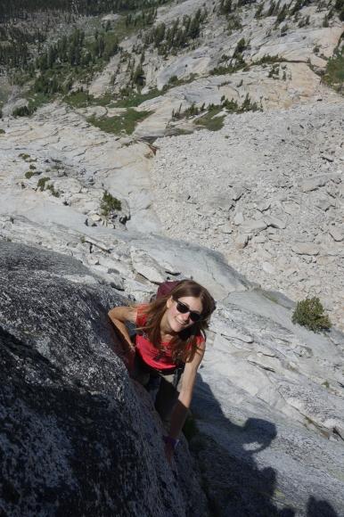 Content as can be on Tenaya Peak in Tuolumne Meadows