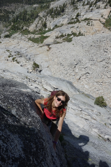 Content as can be on Tenaya Peak in Tuolumne Meadows